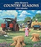 John Sloane's Country Seasons 2016 Monthly/Weekly Planner Calendar
