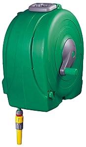 Hozelock Schlauchaufbewahrung Fast Reel Wandschlauchbox mit 40 M Schlauch und Grundausstattung, Grün  GartenKritiken und weitere Informationen