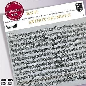 Bach: Sonatas & Partitas for solo violin by Decca (UMO)