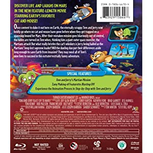 Tom & Jerry: Blast Off to Mars [Blu-ray]