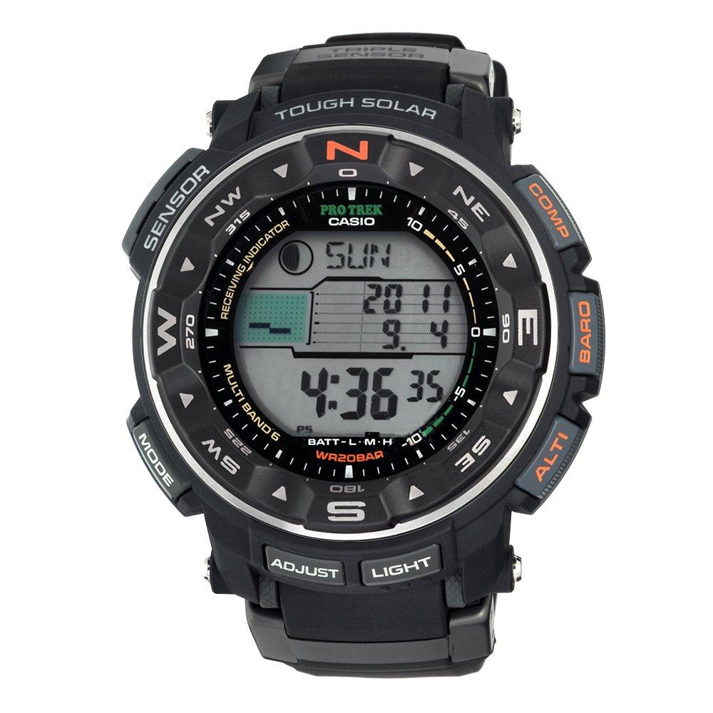 CASIO 卡西欧 PRW2500-1 ProTrek6 登山系列 男款腕表 $181.59 (约¥1200)
