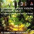 Il Giardino Armonico : concertos pour violon et cordes op.8