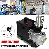Electrical Equipment & Supplies - Other Electrical Equipment - 110V/220V 30Mpa High Pressure Electric Compressor Pump PCP Electric Air Pump Black - (Voltage: 110V) (Tamaño: 110V)