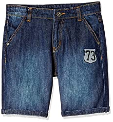 Cherokee Boys' Shorts (267936625_Medium Blue_2 - 3 years)
