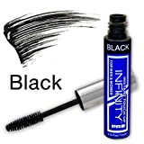 Infinity Temporary Hair Color Hair Mascara Root Concealer Touch Up for Women & Men (Black), 0.3 ounce