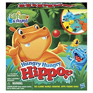 Hungry Hungry Hippos by Hasbro Games