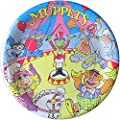 Muppets Vintage 'Circus' Large Paper Plates (8ct)
