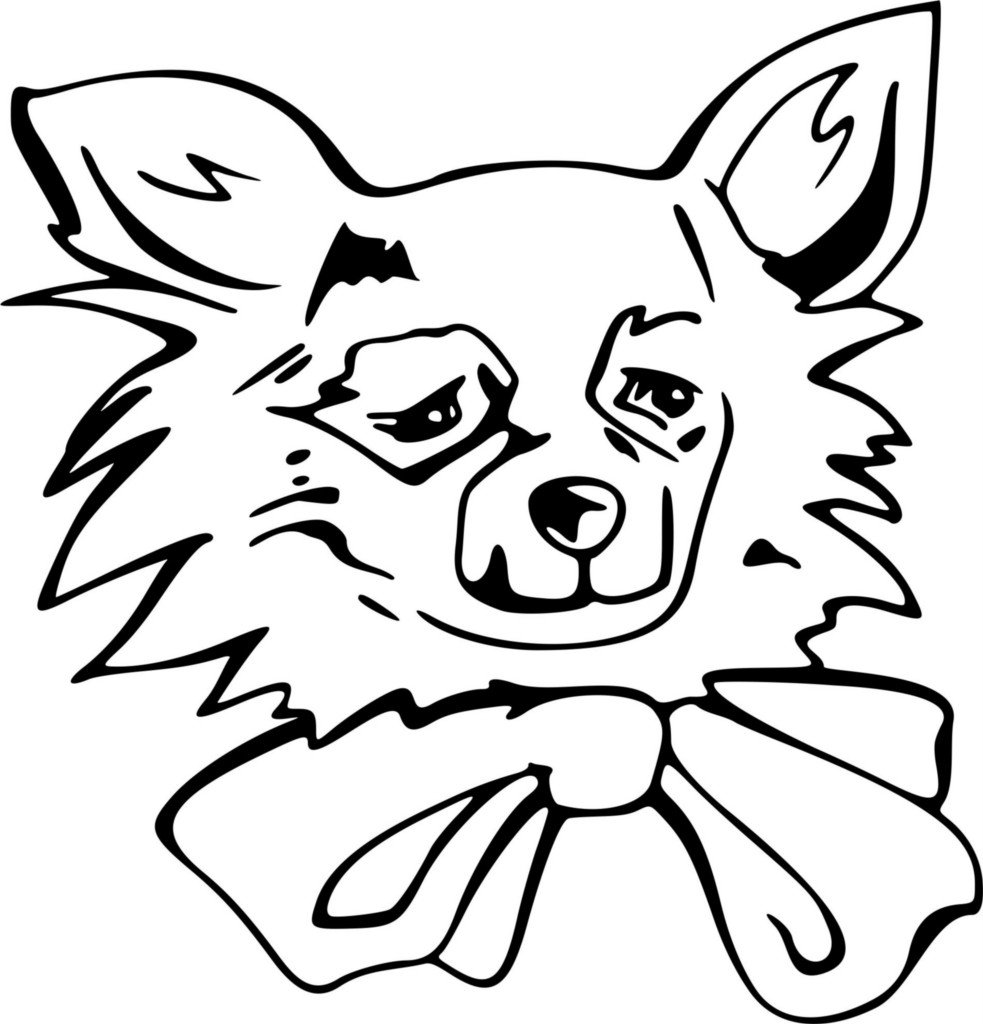 Free Coloring Pages Of Dog Face