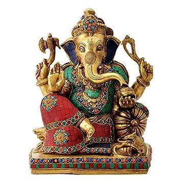 Gangesindia Brass Sculpture Prathampujya Shri Ganesh