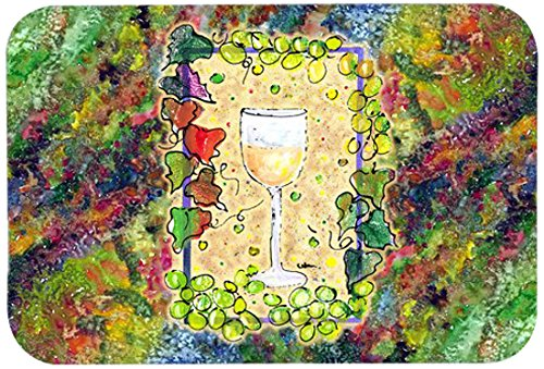 Carolines Treasures 8617JCMT Wine Kitchen or Bath Mat, 24 by 36 , Multicolor