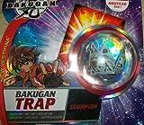 Bakugan TRAP Luminoz (Grey) Tripod Epsilon New Vestroia Bakuneon FACTORY SEALED Single Figure Special Attack