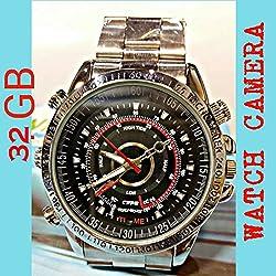 High Quality Wrist Watch Spy Camera (32 GB Memory)