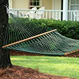 Presidential Size Original DuraCord® Rope Hammock - Green | 15DCG