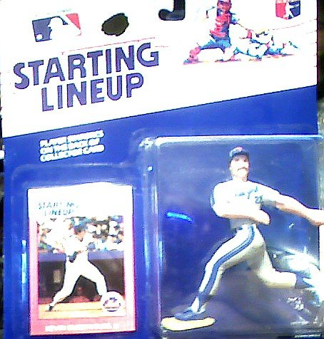 Kevin McReynolds Action Figure - New York Mets Uniform - 1988 Major League Baseball Starting Lineup Series
