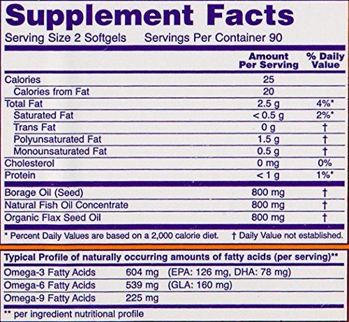 NOW Foods Super Omega 3-6-9 1200mg, 180 Softgels