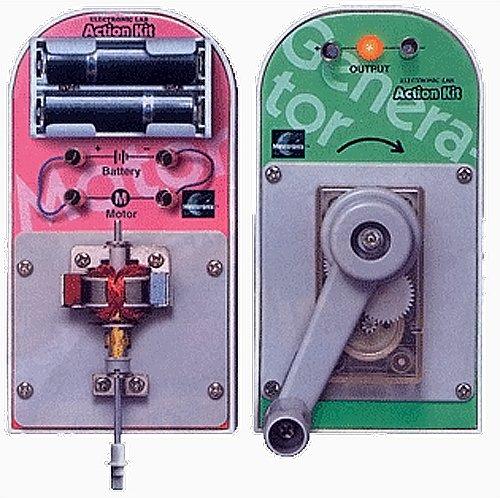 Elenco Electronic Motor And Generator Action Kit