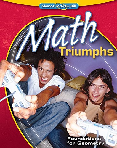Math Triumphs--Foundations for Geometry (Merrill Geometry)