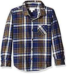 Pumpkin Patch Boys' Shirt (W6BY16007_Medieval Blue_6)