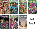 img - for Lumberjanes Issue 15-21 Cover A Set - Bundle of Seven (7) BOOM! Studios Comics book / textbook / text book