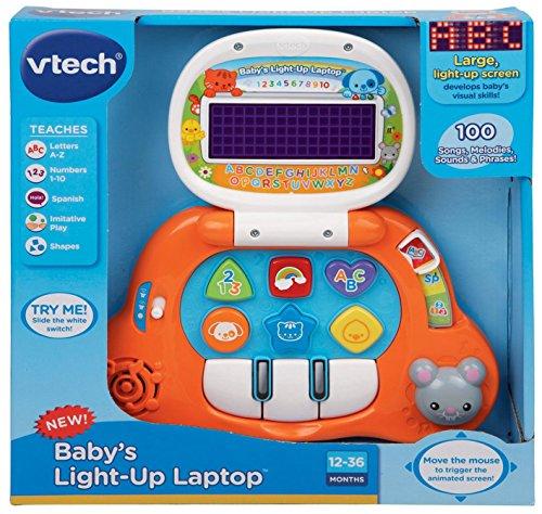 VTech Baby's Light-Up Laptop, Orange