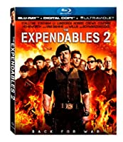 The Expendables 2 Blu-ray Digital Copy Ultraviolet by Lions Gate