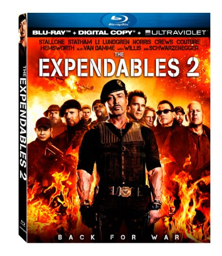 61ITPS1w4PL The Expendables 2 [Blu ray + Digital Copy + UltraViolet]