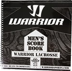 Warrior Warrior Men's Score Book (One Size, Black)