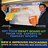 2014 CBSSports.com Fantasy Football Draft Board Kit