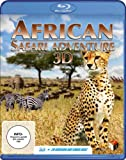 Image de African Safari Adventure 3d (B [Blu-ray] [Import allemand]