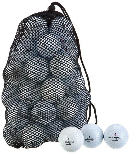 Second Chance Golfbälle Maxfli Noodle 48 Premium Grade A, Weiß, N/A, VAL-48-MAX-NO