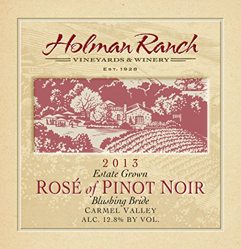 "2013 Holman Ranch Carmel Valley Estate Grown ""Blushing Bride"" Rosé Of Pinot Noir 750 Ml"