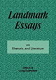 img - for Landmark Essays on Rhetoric and Literature: Volume 16 (Landmark Essays Series) book / textbook / text book