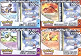 Image of Pokemon EX 2004 World Championship Decks Set of 4