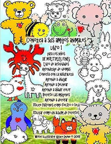 conozca-a-sus-amigos-animales-libro-1-para-los-ninos-de-multiples-fines-libro-de-actividades-aprendi