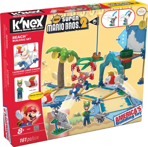 K'NEX New Super Mario Bros 2 Beach Building Set #38624 (Super Mario Brothers compare prices)