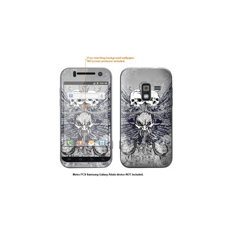 Protective Decal Skin Sticker for Metro PCS Samsung Galaxy Attain 4G case cover Attain 437