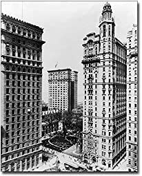 Trinity and U.S. Realty Building NYC 1913 8x10 Silver Halide Photo Print