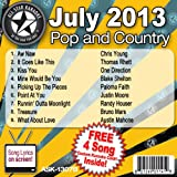 All Star Karaoke July 2013 Pop and Country Hits B (ASK-1307B)