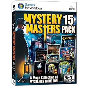 Mystery Masters: Volume 2 - 15 Pack from Viva Media