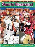 Joe Montana Dan Marino 1/21/1985 Sports Illustrated Complete Magazine 49ers - COA - Ex - Mint Condition