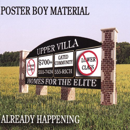 Original album cover of Already Happening by Poster Boy Material