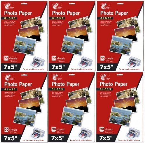 6-x-packs-of-7-x-5-gloss-photo-paper-30-sheets-235-gsm