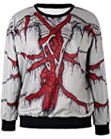 TDOLAH Galaxy Jumpers Pullovers Patterned Sweatshirts Printed Sweaters for Women