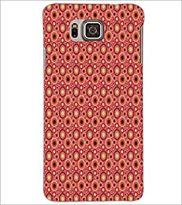 PrintDhaba Pattern D-5900 Back Case Cover for SAMSUNG GALAXY ALPHA (Multi-Coloured)