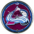NHL Colorado Avalanche Chrome Clock