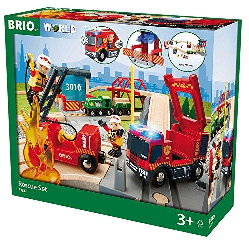 BRIO 33817  Bahn Großes Feuerwehr Deluxe Set, bunt Picture