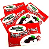 Junior Mints, Peppermint Crunch, Limited Edition, Theater Box Candy, 3.5oz Box (Pack of 4)