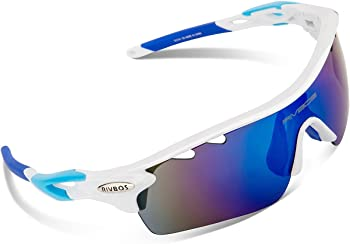 Rivbos 801 Polarized Sports Sunglasses