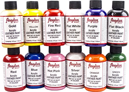 Oils, Acrylic & Watercolour Paints  Angelus 4oz Acrylic