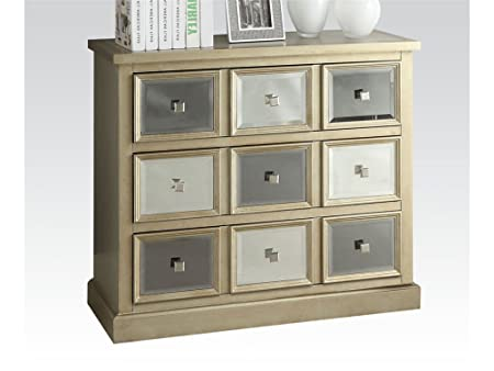 Bedroom Bombay Chest Silver/Gray by Acme Furniture